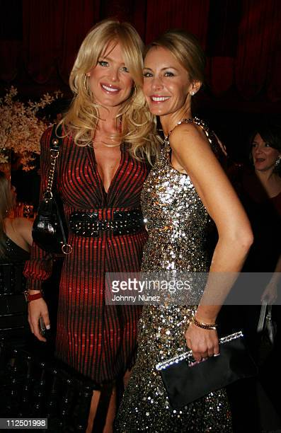 Victoria Silvstedt and Dee Ocleppo during Dee Ocleppo Celebrates Her Birthday Hosted by Tommy Hilfiger at Cipriano's 42nd Street in New York New York...