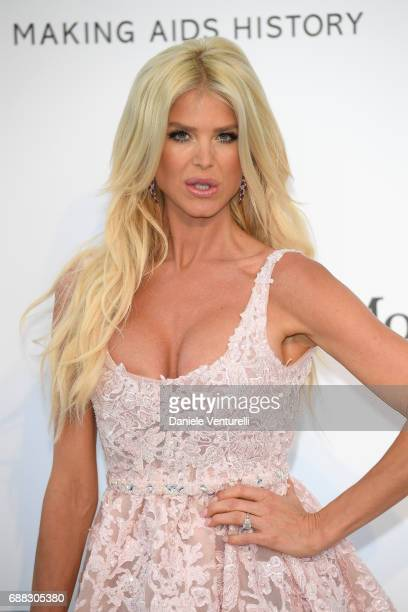 Victoria Silvstedt arrives at the amfAR Gala Cannes 2017 at Hotel du CapEdenRoc on May 25 2017 in Cap d'Antibes France
