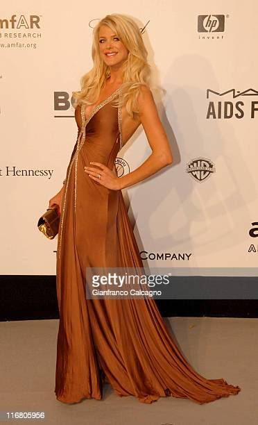 Victoria Silvstedt at amfAR's Cinema Against AIDS event presented by Bold Films the M*A*C AIDS Fund and The Weinstein Company to benefit amfAR