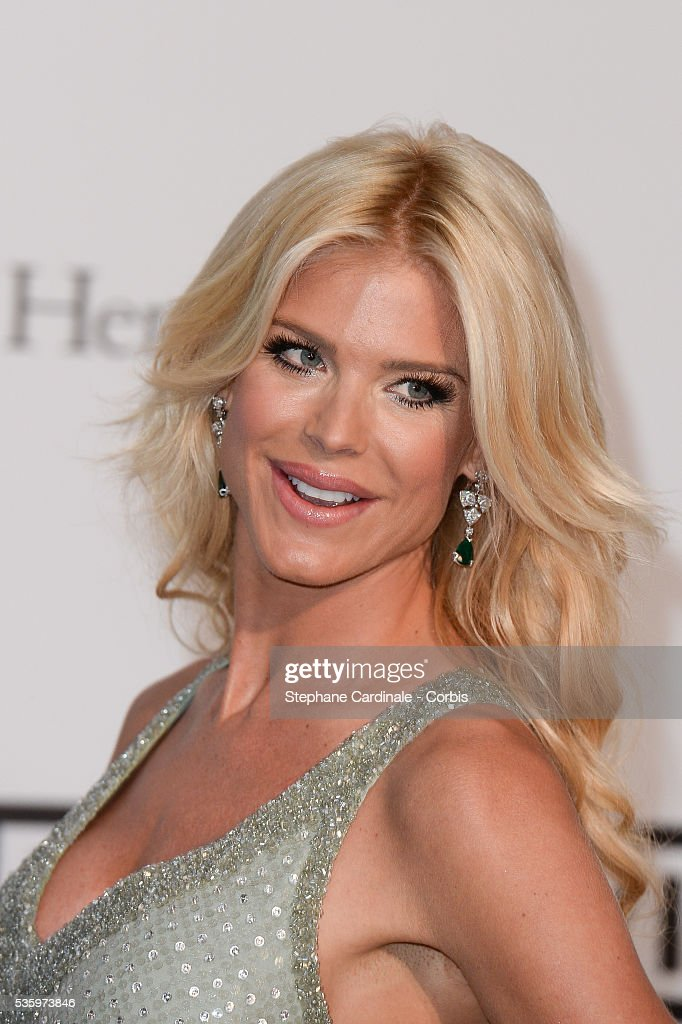 Victoria Silvstedt at the amfAR's 21st Cinema Against AIDS Gala at Hotel du Cap-Eden-Roc during the 67th Cannes Film Festival