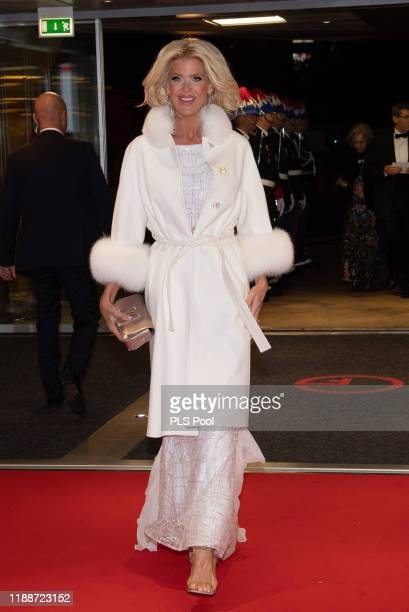 Victoria Silvstedt attend the gala at the Opera during Monaco National Day celebrations on November 19, 2019 in Monte-Carlo, Monaco.