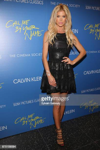 Victoria Silvstedt attends Calvin Klein and The Cinema Society host a screening of Sony Pictures Classics' 'Call Me By Your Name' on November 16 2017...