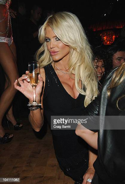 Victoria Silvstedt attends Lavo NYC Grand Opening at Lavo NYC on September 14 2010 in New York City