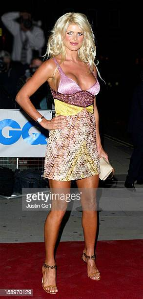 Victoria Silvstedt Attends The 2003 'Gq Men Of The Year Awards' At London'S Royal Opera House