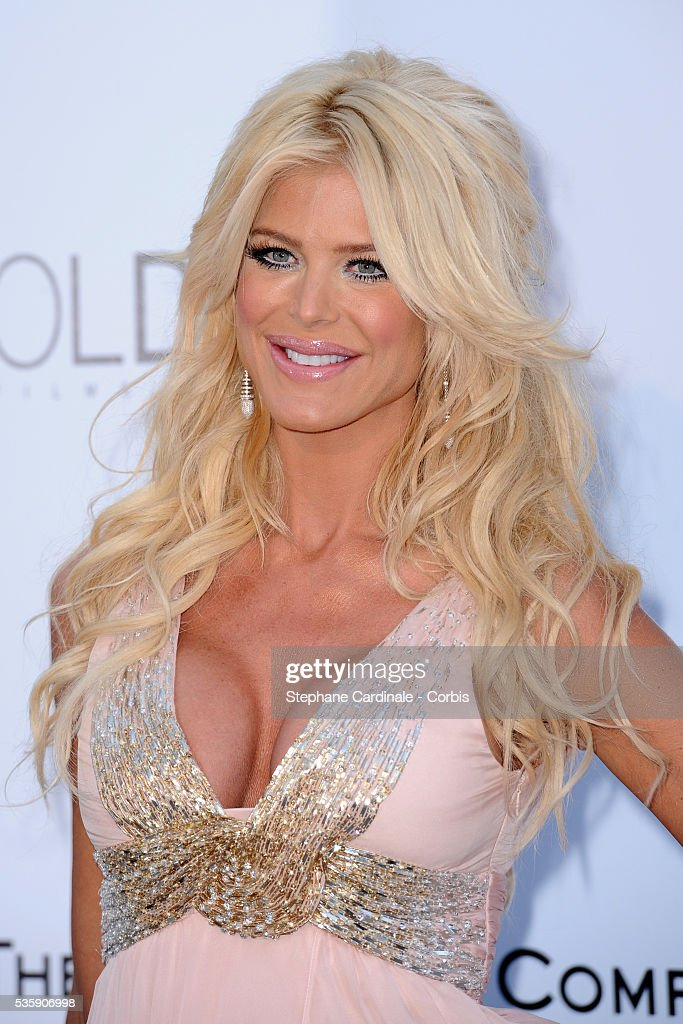 Victoria Silvstedt attends the '2010 amfAR's Cinema Against AIDS' Gala