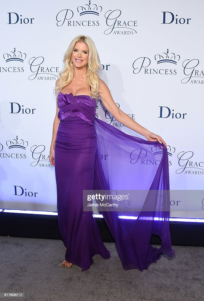 Victoria Silvstedt attends the 2016 Princess Grace awards gala at Cipriani 25 Broadway on October 24, 2016 in New York City.