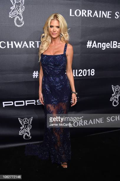Victoria Silvstedt attends the 2018 Angel Ball hosted by Gabrielle's Angel Foundation at Cipriani Wall Street on October 22 2018 in New York City