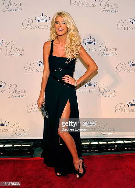 Victoria Silvstedt attends the 30th anniversary Princess Grace awards gala at Cipriani 42nd Street on October 22 2012 in New York City