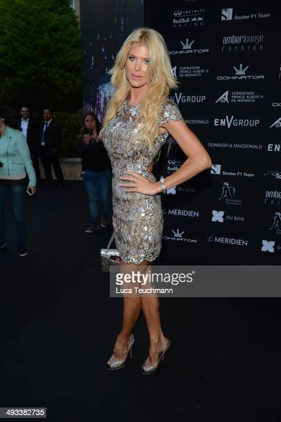 Victoria Silvstedt attends the Amber Lounge 2014 Gala at Le Meridien Beach Plaza Hotel on May 23 2014 in MonteCarlo Monaco