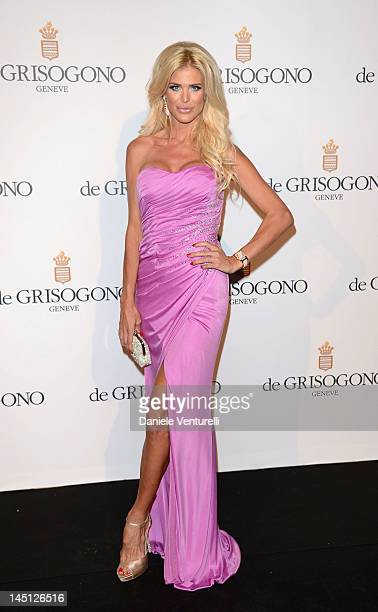 Victoria Silvstedt attends the de Grisogono Party during the 65th Annual Cannes Film Festival at Hotel Du Cap on May 23 2012 in Antibes France
