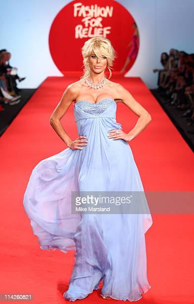 """Victoria Silvstedt attends the """" Fashion For Relief Japan Fundraiser"""" during the 64th Annual Cannes Film at Forville Market on May 16, 2011 in..."""