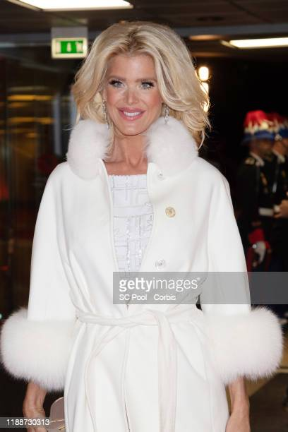 Victoria Silvstedt attends the gala at the Opera during Monaco National Day celebrations on November 19, 2019 in Monte-Carlo, Monaco.