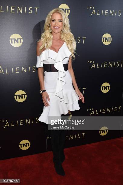 Victoria Silvstedt attends the premiere of TNT's 'The Alienist' at iPic Cinema on January 16 2018 in New York City