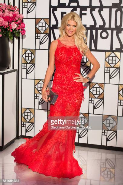 Victoria Silvstedt attends the Rose Ball 2017 To Benefit The Princess Grace Foundation at Sporting Monte-Carlo on March 18, 2017 in Monte-Carlo,...