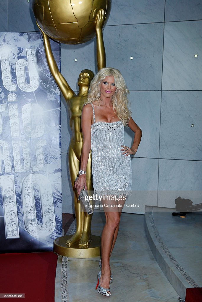 Victoria Silvstedt attends the 'World Music Awards 2010 - show' at the Sporting Club on May 18, 2010 in Monte Carlo, Monaco.