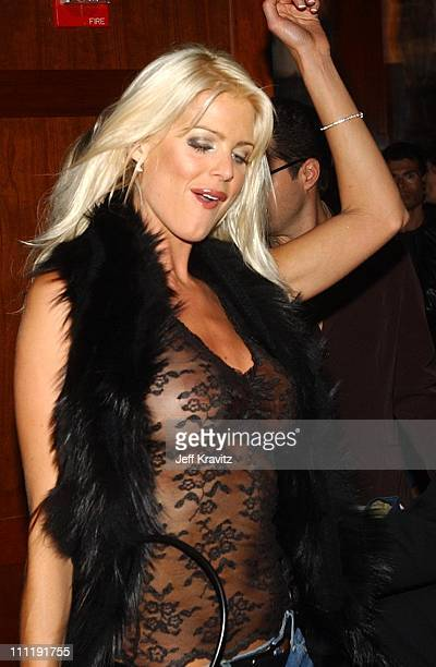 Victoria Silvstedt during 2002 VH1 Vogue Fashion Awards After Party at Hudson Hotel in New York City New York United States