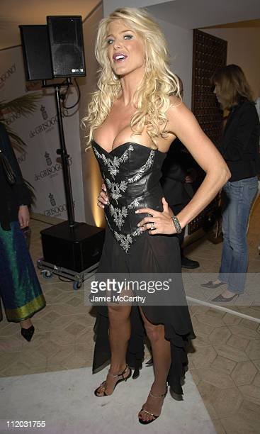 Victoria Silvstedt during 2005 Cannes Film Festival de Grisogono Party at Hotel Du Cap in Cannes France