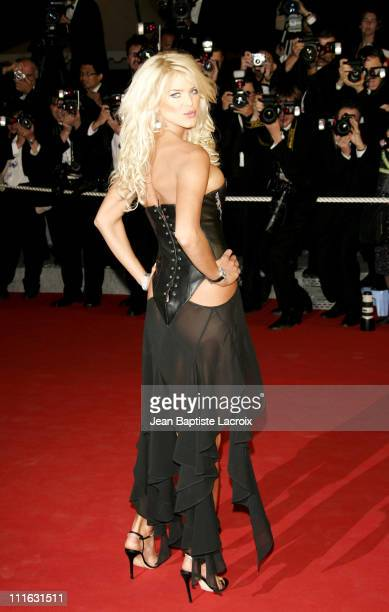 Victoria Silvstedt during 2005 Cannes Film Festival Sin City Premiere in Cannes France