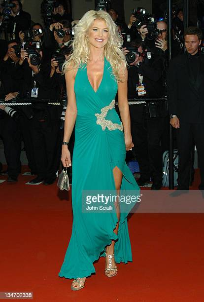 Victoria Silvstedt during 2006 Cannes Film Festival XMen 3 The Last Stand Premiere at Palais des Festival in Cannes France
