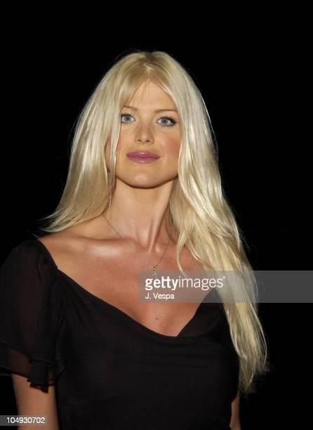 Victoria Silvstedt during Cannes 2002 De Grisogono Dinner at Hotel Du Cap in Cap d'Antibes France