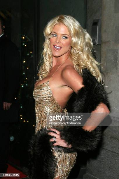 Victoria Silvstedt during La Dolce Vita Ball in Association with UNICEF at Old Billingsgate Market in London. In London, United Kingdom.