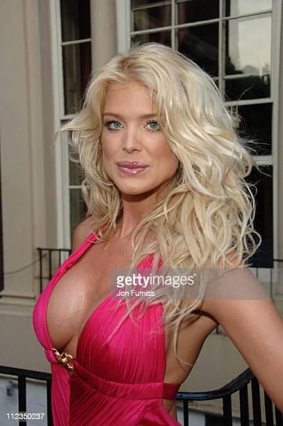 Victoria Silvstedt during Michele Watches Summer Party Inside at Home House in London Great Britain
