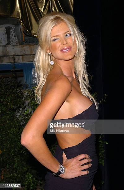 Victoria Silvstedt during Naomi Campbell Birthday Party Arrivals in Cannes France