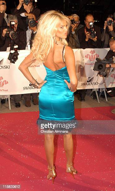 Victoria Silvstedt during Swarovski Fashion Rocks for the Prince's Trust Red Carpet Arrivals at Forum Grimaldi in Monte Carlo Monaco