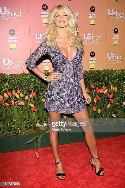 Victoria Silvstedt during Us Weekly Hot Hollywood Awards at Republic Restaurant and Lounge in West Hollywood CA United States