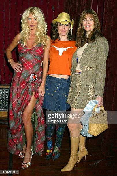 Victoria Silvstedt Yancy Butler and Carol Alt *Exclusive*