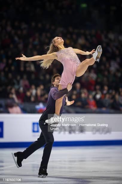 Victoria Sinitsina and Nikita Katsalapov of Russia compete in the Ice Dance Free Dance during the ISU Grand Prix of Figure Skating Final at Palavela...