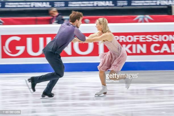 Victoria SINITSINA / Nikita KATSALAPOV in action during the Ice Dance free Program of the ISU Figure Skating Grand Prix final at Palavela on December...