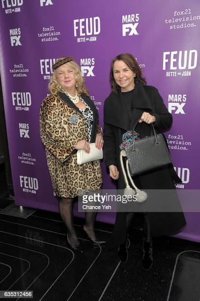 Victoria Smyth and Patty Smyth attend 'Feud' Tastemaker lunch at The Rainbow Room on February 14 2017 in New York City