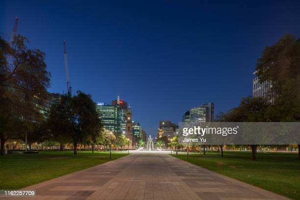 victoria square, adelaide - adelaide stock pictures, royalty-free photos & images