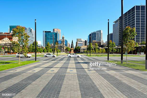 victoria square adelaide - adelaide stock pictures, royalty-free photos & images