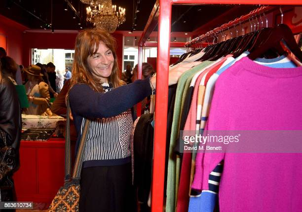 Victoria Stapleton at the opening of the new Bicester Village and the launch of the British Collective at Bicester Village on October 20 2017 in...