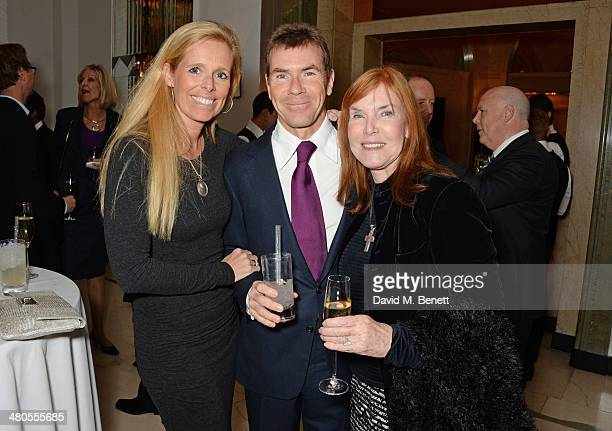 Victoria Stewart Paul Stewart and Lady Helen Stewart attend a private dinner hosted by Spear's for The Mayo Clinic at Claridge's Hotel on March 25...