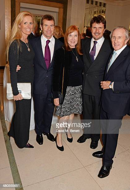 Victoria Stewart Paul Stewart Lady Helen Stewart Mark Stewart and Sir Jackie Stewart attend a private dinner hosted by Spear's for The Mayo Clinic at...