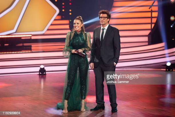 Victoria Swarovski and Daniel Hartwich during the 10th show of the 12th season of the television competition Let's Dance on May 31 2019 in Cologne...