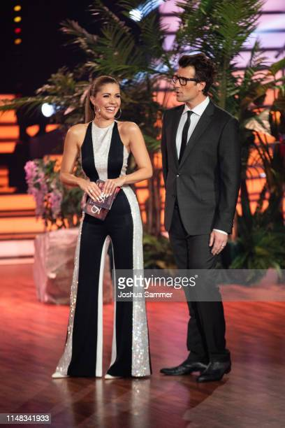 "Victoria Swarovski and Daniel Hartwich during the 7th show of the 12th season of the television competition ""Let's Dance"" on May 10, 2019 in Cologne,..."