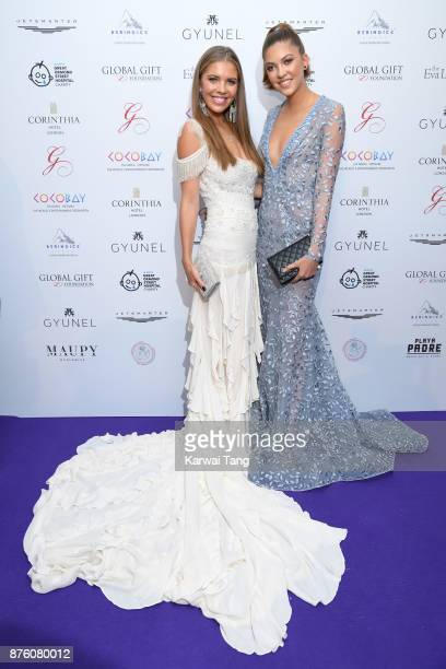 Global gift gala 2017 getty images victoria swarovski and paulina swarovski attend the global gift gala held at the corinthia hotel on negle Images