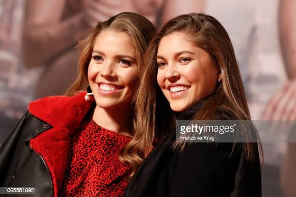 Victoria Swarovski and Paulina Swarovski during the German premiere of the movie '100 Dinge' at CineStar on November 26, 2018 in Berlin, Germany.