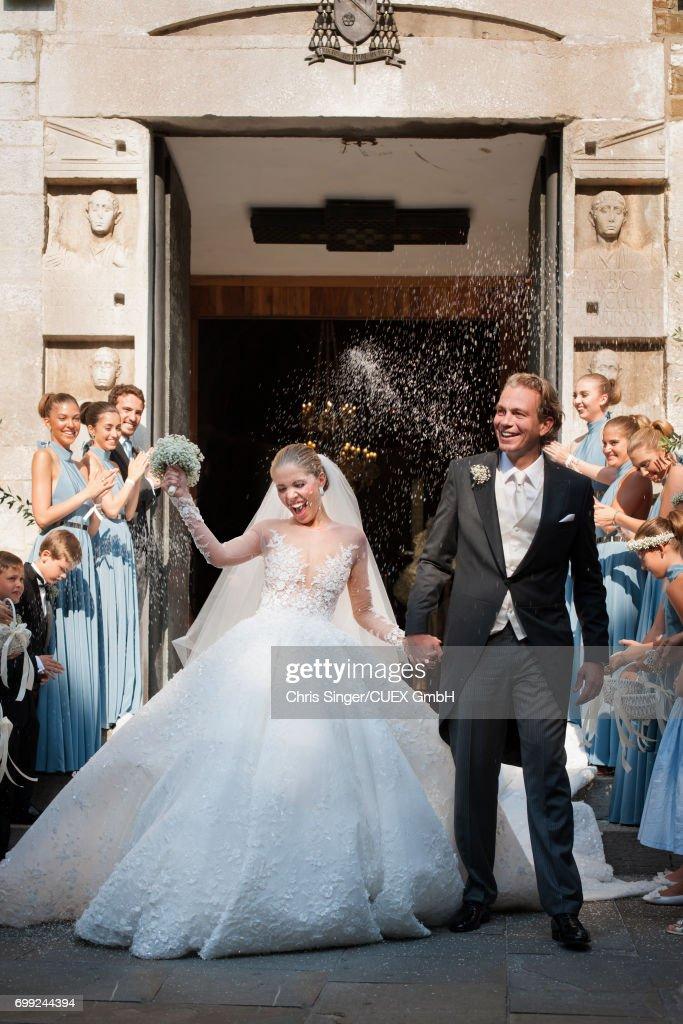 Victoria Swarovski And Werner Muerz Get Married In Trieste : News Photo