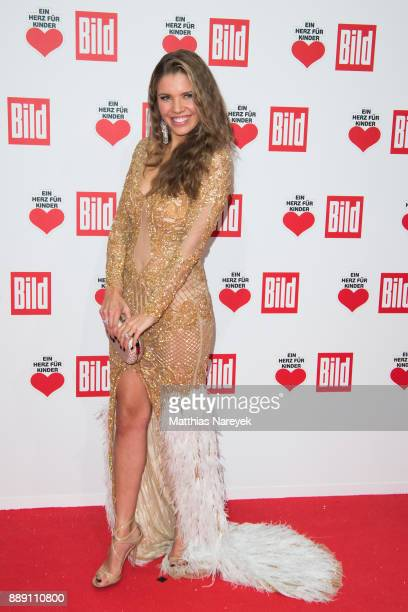 Victoria Swarovski attends the Ein Herz Fuer Kinder gala on at Studio Berlin Adlershof on December 9 2017 in Berlin Germany