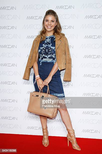 Victoria Swarovski attends the Marc Cain fashion show spring/summer 2017 at CITY CUBE Panorama Bar on June 28 2016 in Berlin Germany
