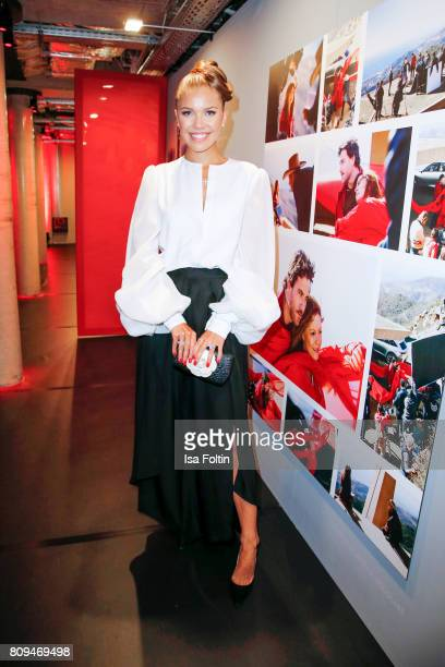Victoria Swarovski attends the mbcollective Fashion Story Chapter Two Global Launch at Soho House on July 5 2017 in Berlin Germany