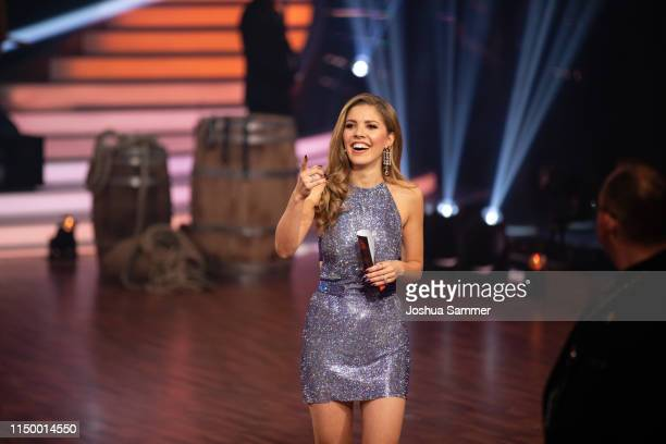 Victoria Swarovski during the 8th show of the 12th season of the television competition Let's Dance on May 17 2019 in Cologne Germany