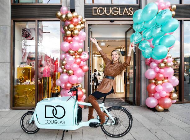 DEU: Douglas Luxury-Flagship-Store Opening In Hamburg
