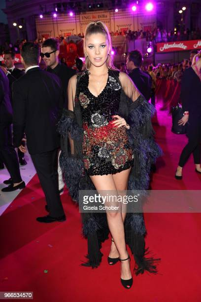 Victoria Swarovski during the Life Ball 2018 at City Hall on June 2 2018 in Vienna Austria The Life Ball an annual charity event raising funds for...