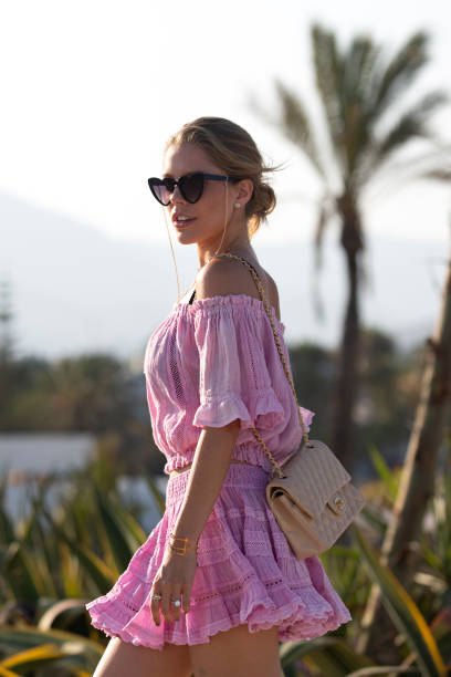 ESP: Victoria Swarovski Sighting In Marbella, Spain